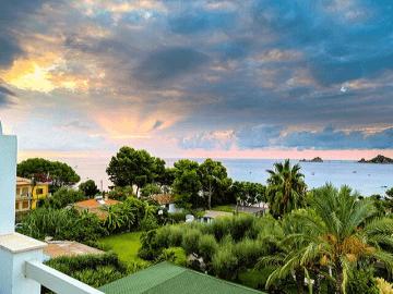 santa maria navarrese • hotel direkt am meer • strand