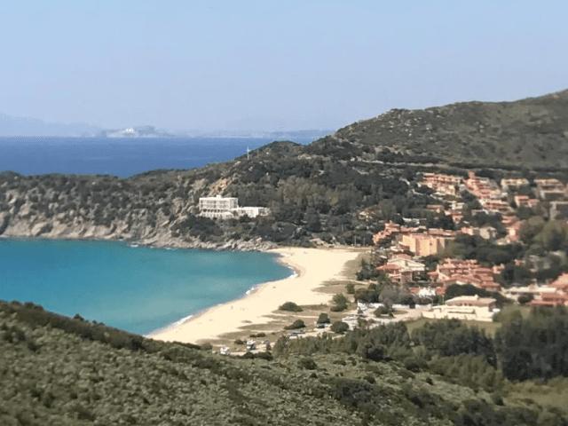 Solanas auf Sardinien