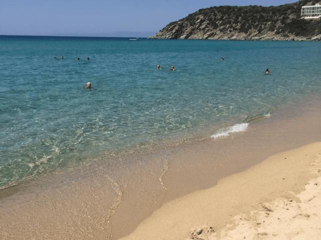 Strand Solanas - Sardinien