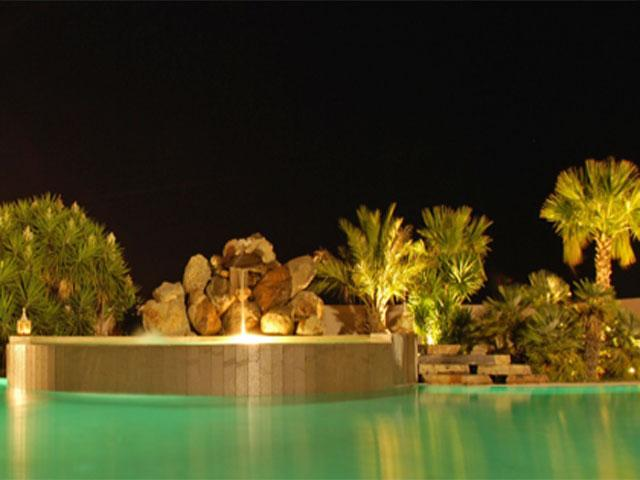 By night - Tarthesh Hotel - Guspini - Sardinië