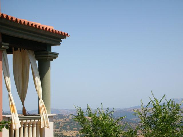 Uitzicht - Hotel Su Lithu - Bitti - Sardinië