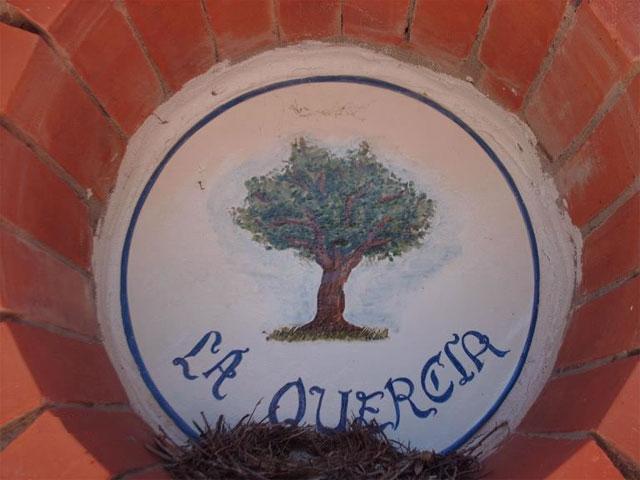 Entree - Agriturismo La Quercia -  Arbus - Costa Verde - Sardinië