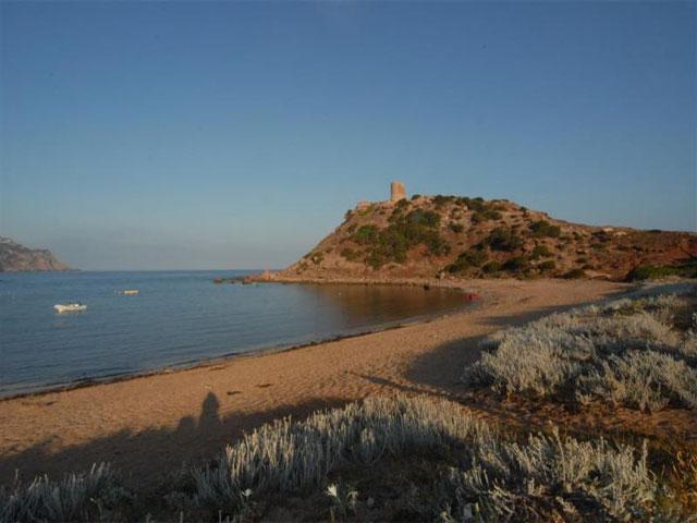 Baai van Vakantiepark & Camping Torre del Porticciolo in Alghero - Sardinië