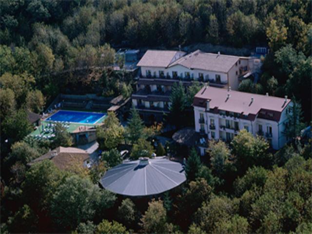 Luchtfoto van Hotel Sa Muvara - Sardinië - Sardinia4all
