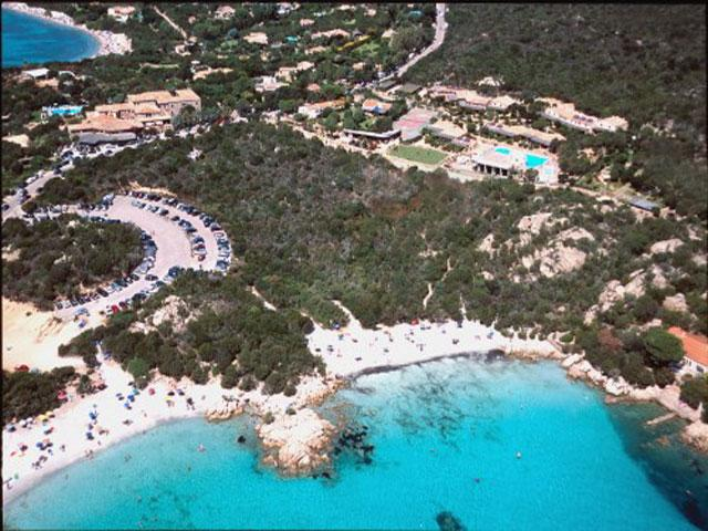 Luchtfoto -  Residence Capriccioli - Sardinie