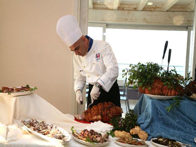 Restaurant - Hotel Bajaloglia - Castelsardo - Sardinië