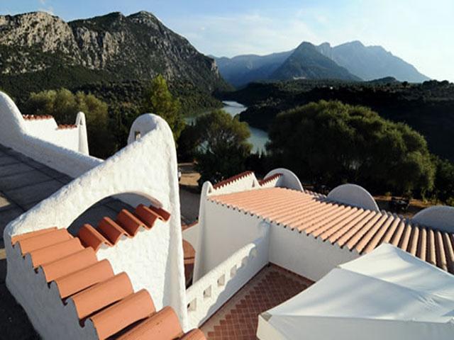 Schitterend uitzicht - Hotel Cedrino in Dorgali