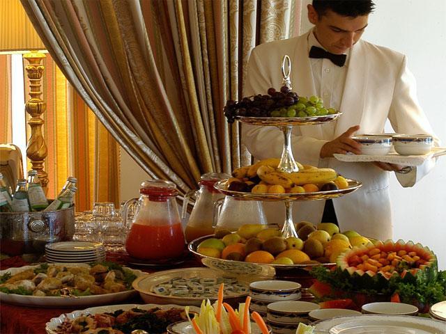 Buffet - Villa Las Tronas - Alghero - Sardinië