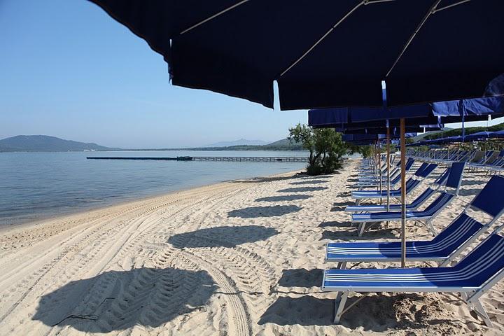 Ligging direkt aan zee - - Hotel Corte Rosada - Alghero