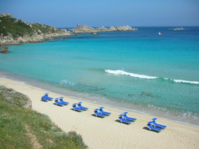 Strand van Rena Bianca - Sardinië