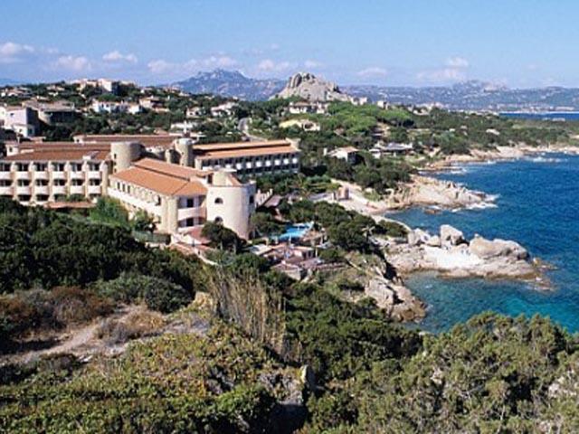 Grand Hotel Smeraldo Beach in Baja Sardinia - Sardinie