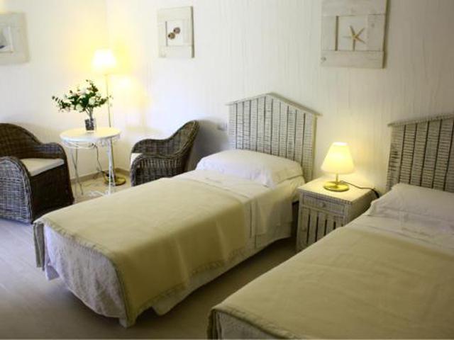 Sardinie - Alle kamers van deze B&B zijn in landelijke stijl (4)