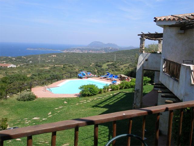 Kleinschalige appartementen compex Sardinie - Rocce Sarde (2)