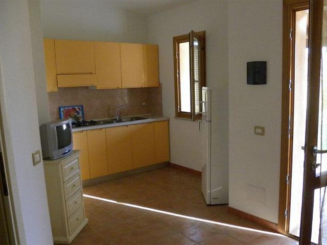 Trilo appartement in Club Rey Beach - Sardinie