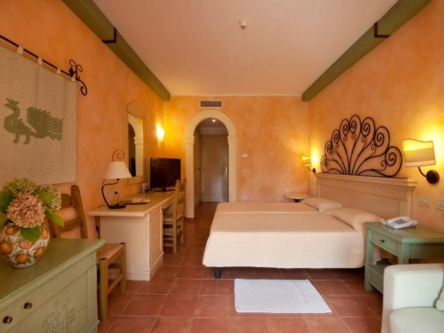 Hotelkamer in Hotel Lantana Resort - Sardinie
