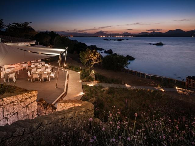 luxe strandvakantie sardinie - hotel cala cuncheddi - noord sardinie