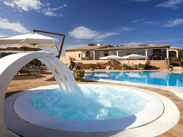 Parco degli Ulivi Park Hotel mit Pool Sardinien