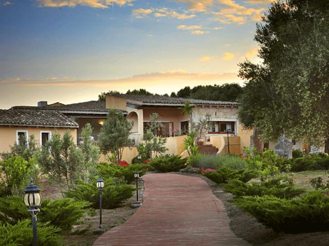 Parco Degli Ulivi Landhotel Arzachena Sardinien
